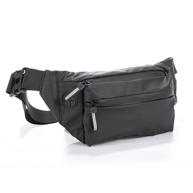 Bolso de la cintura impermeable bolsa de viaje Viajes Fannypack Cinturón para Paquete Bolsos de moda negra Monedero Monedero Debe BUM MUJER BOLSANEW COPA UDGJR