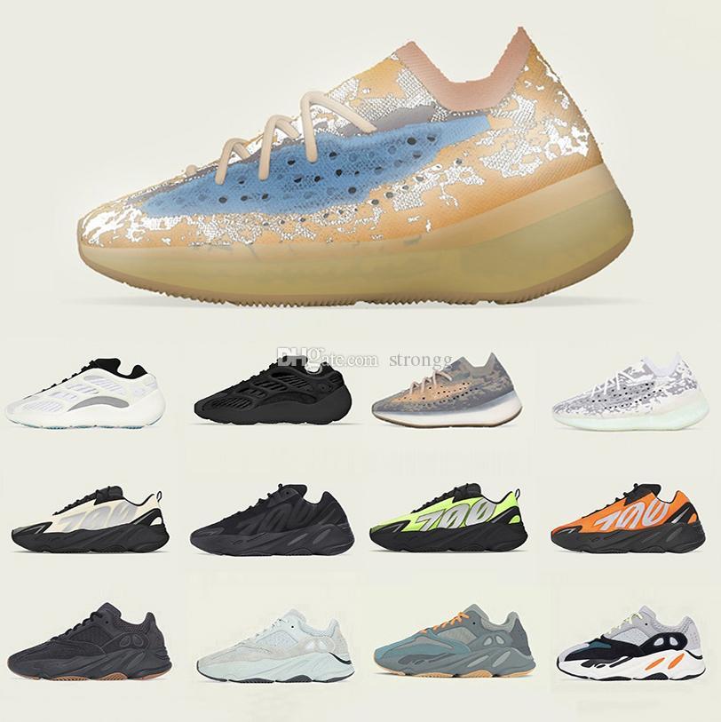 Boost Stock X kanye west Vanta 700 Mens womens running shoes Mauve Utility Black Salt Inertia Wave Runner Static 700s men sports designer sneakers