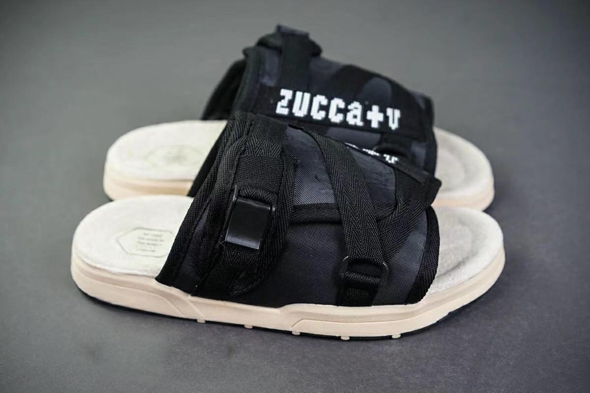 Progettista di marca di moda pantofole Scarpe Uomo Scarpe Casual Pantofole Infraditi coperta pantofole di Hip-hop delle donne della via Visvim Sandali