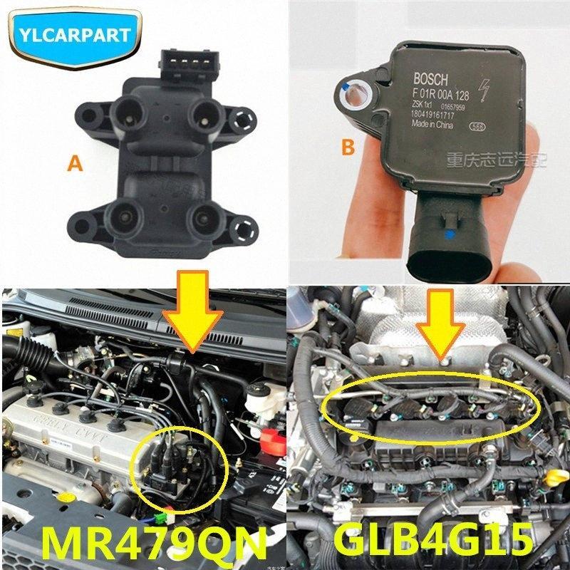 Para Geely GC6, SC6, Carro iginition motor de bobina vrKZ #