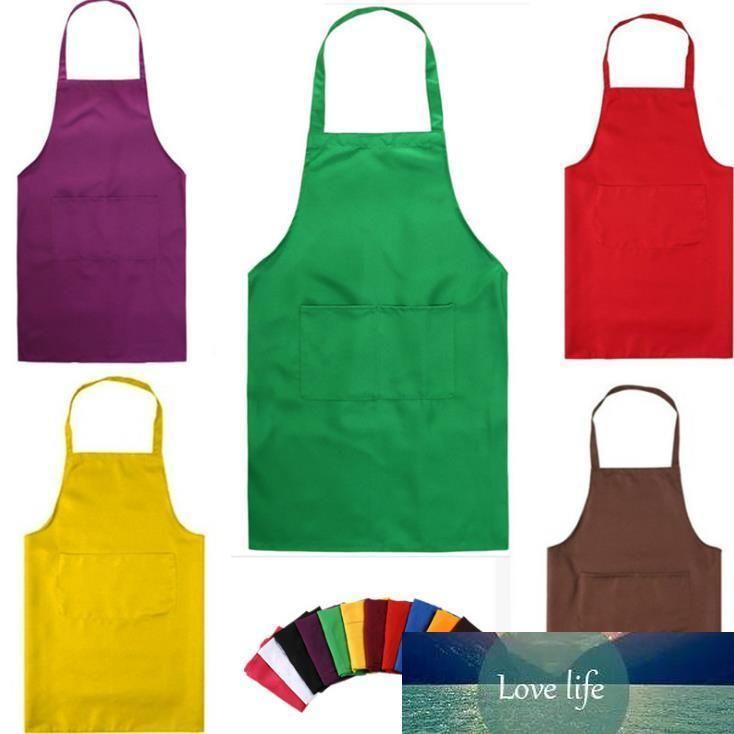 Faire cuire au four noir Tabliers de cuisine tablier de cuisine restaurant Tabliers pour les femmes Accueil manches tablier