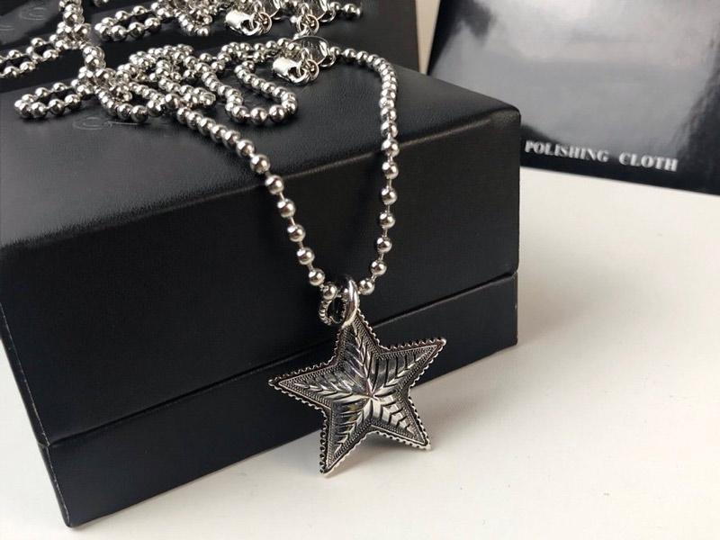 Yıldız Kolye Kolye Kolye Pentagram Erkekler ve kadınlar Takı Mücevher Noel Partisi Hediye