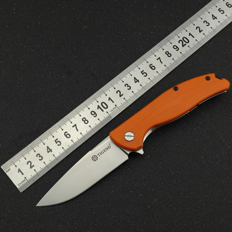 TIGEND G10 çakı EDC bıçak yarar knive kamp kalem öz savunmasını katlama hayatta kalmak için avcılık taktik bıçaklar 1810 Ayı Başkanı Bıçaklar