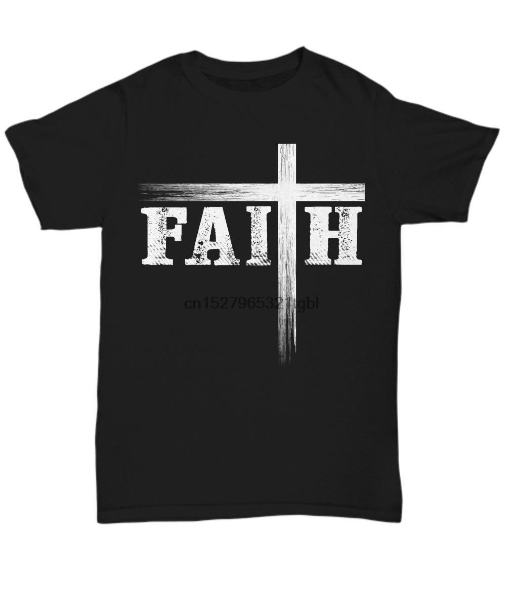Christian İnanç ve Haç Believe Tanrı İsa Erkekler Yeni Tasarım Yaz Kısa Kollu Erkekler Homme Camisetas Yaz Tişört