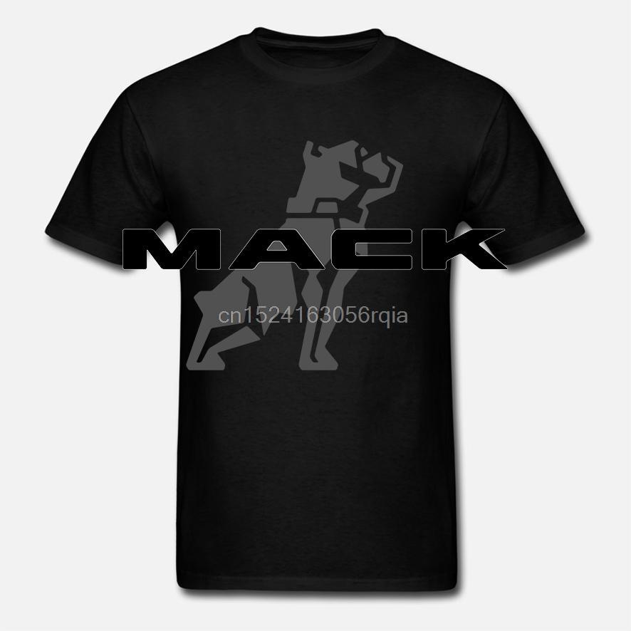 남성 T 셔츠 맥 트럭 t- 셔츠 - 100 % 방축 가공 참신 T 셔츠면 t- 셔츠 여성 재미