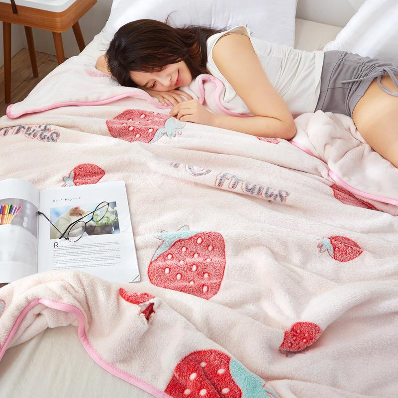 Snowflake Fleece Blanket Female Summer Warm Flannel Sheets Double Thick Coral Fleece Blanket Factory Direct Wholesale Add Box L Big Blankets And Throws Comfort Bay Blankets From Yangjinluan1 36 31 Dhgate Com