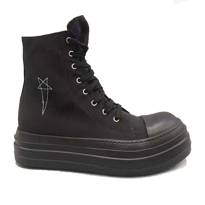 Plataforma corto de arranque Zapatos De Mujer Ro cargadores del tobillo para las mujeres suela gruesa de las mujeres 17 # 22 / 20d50