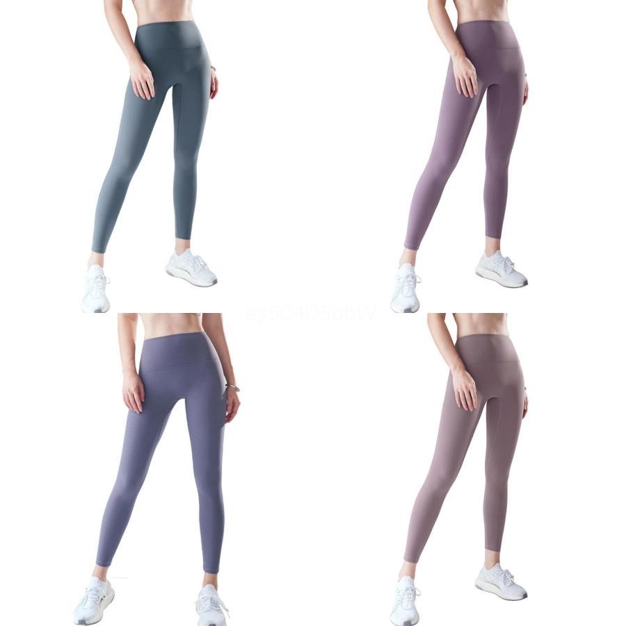 Más el tamaño S-2XL de los pantalones de las mujeres 2020 Nueva Mujer pantalones de pierna ancha cintura Oficina Igh señora suelto recto Negro Pantalones Ot B7N907A # 410