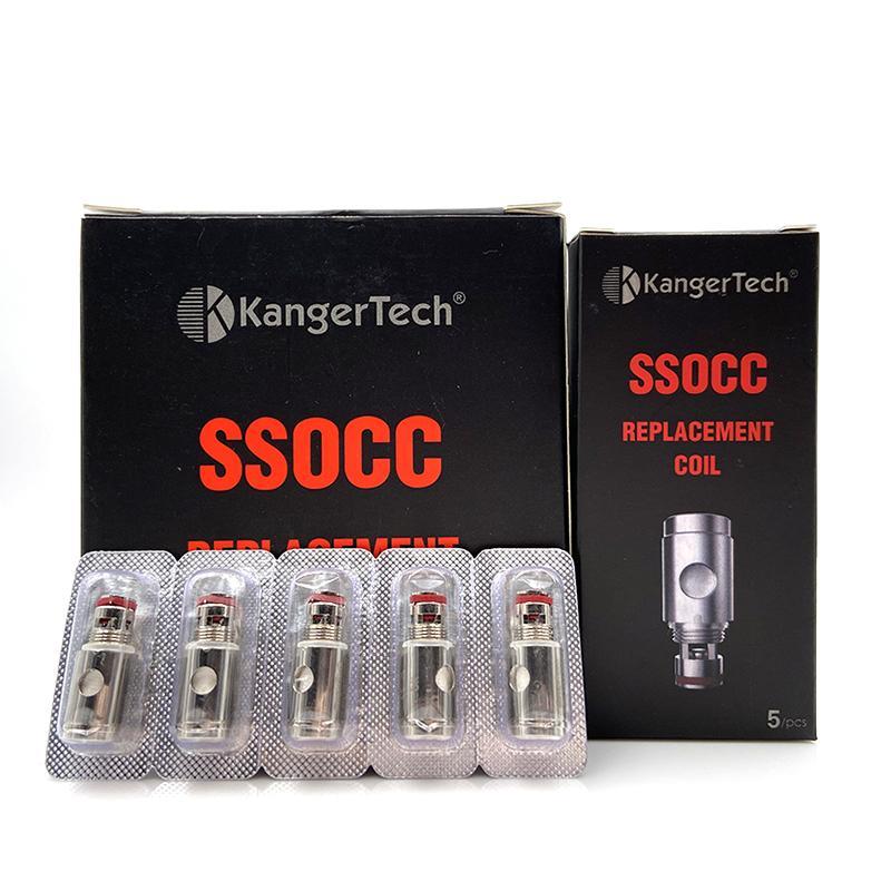 KANGER SSOCC BOILS 0.5 / 1.2OHM Tête de rechange de remplacement pour Kangertech Vape Toptank Subtank Mini Subbox Subbox Subox Nano