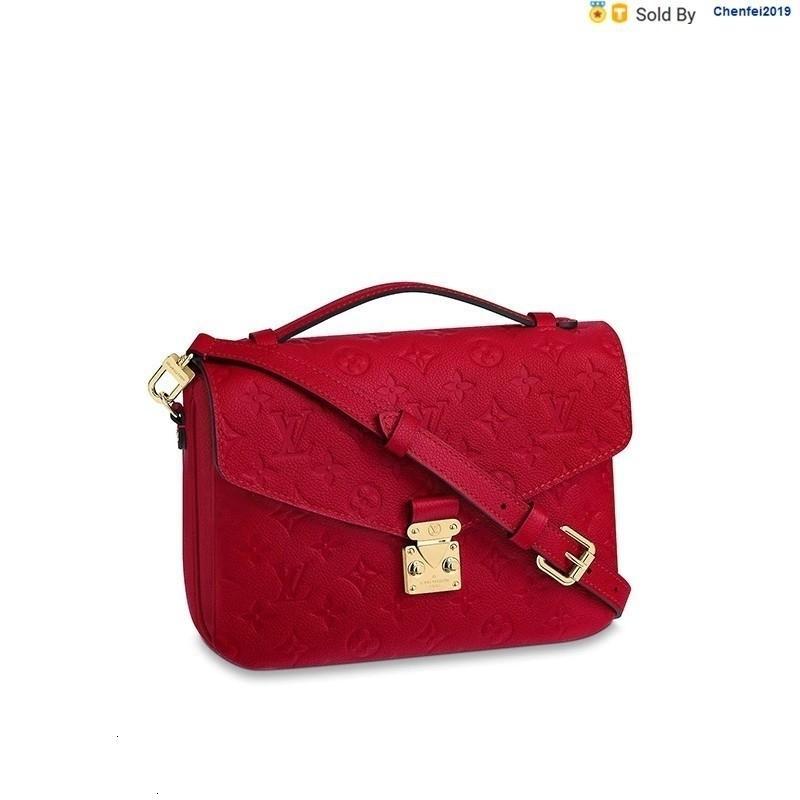 chenfei2019 H7D0 Metis Red Leather Messenger Bag Shoulder Bag M44155 Totes Handbags Shoulder Bags Backpacks Wallets Purse