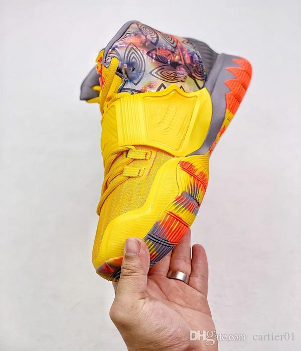 2020 neue Mens Kyrie NYC 6 Basketball-Schuh-Verkauf Shanghai Peking Guangzhou Designer Sneaker Kyries Sports Miami Houston Heal The World Schuhe
