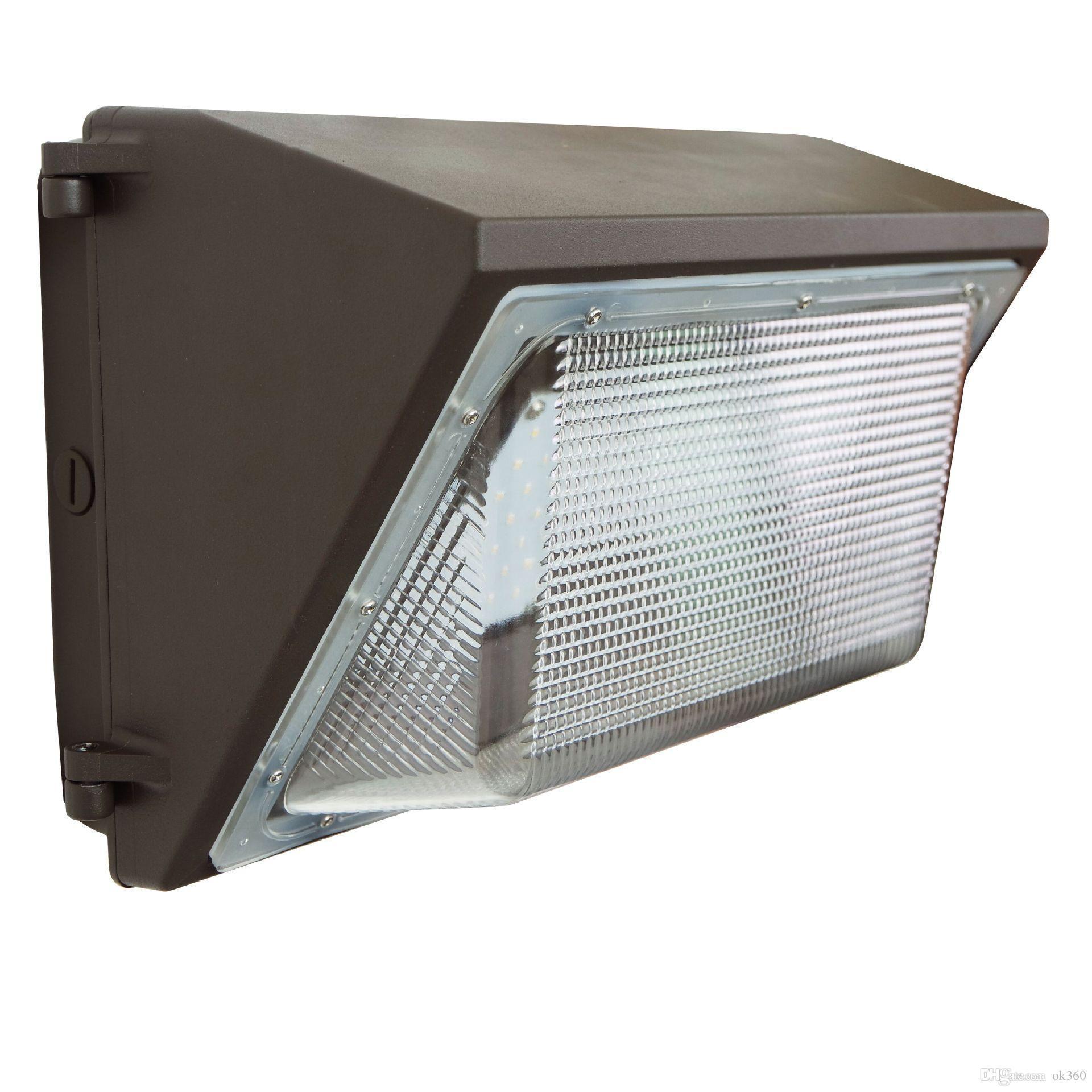 60W 80W 100W 120W фотоэлемент датчика светодиодные настенные светильники напольные света для Стен обновления Лампы Водонепроницаемый AC 85-277V UL FCC