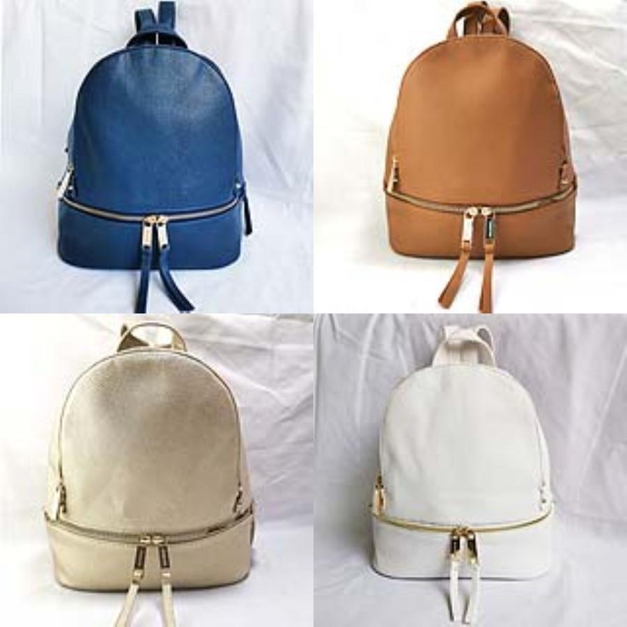 Yeni Moda Marka Tasarım Sırt Çantası Çift Omuz Çantası Açık Traveling Çanta PU Deri Okul çantaları İçin Erkekler Öğrenci Sırt # 639