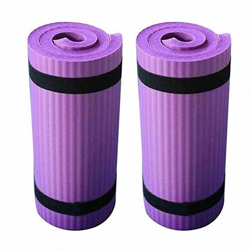 2adet Yoga Minderi Katlama Egzersiz Pad Kaymaz Ağırlık Su geçirmez 6VkN #