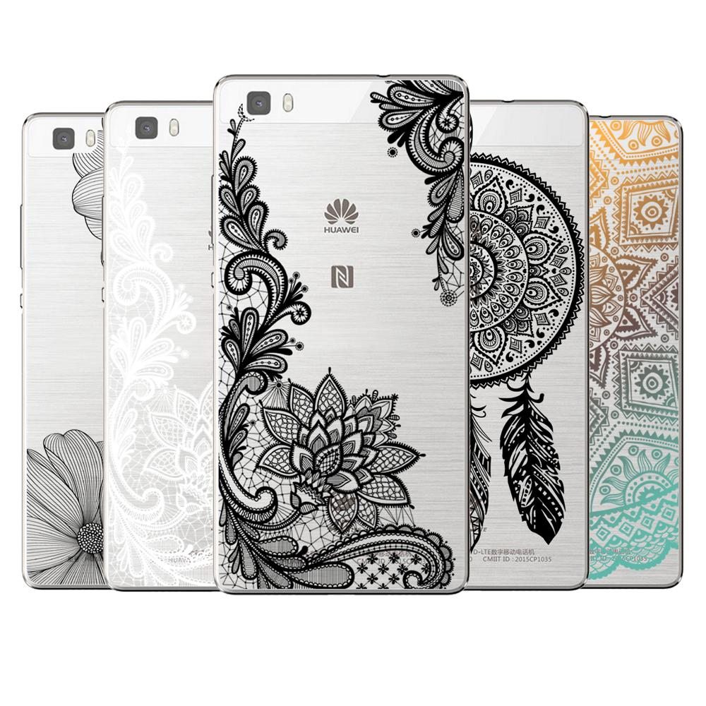 Sexy Floral Lace Mandala Case Cover For Coque Huawei P8 P9 P10 P20 ...