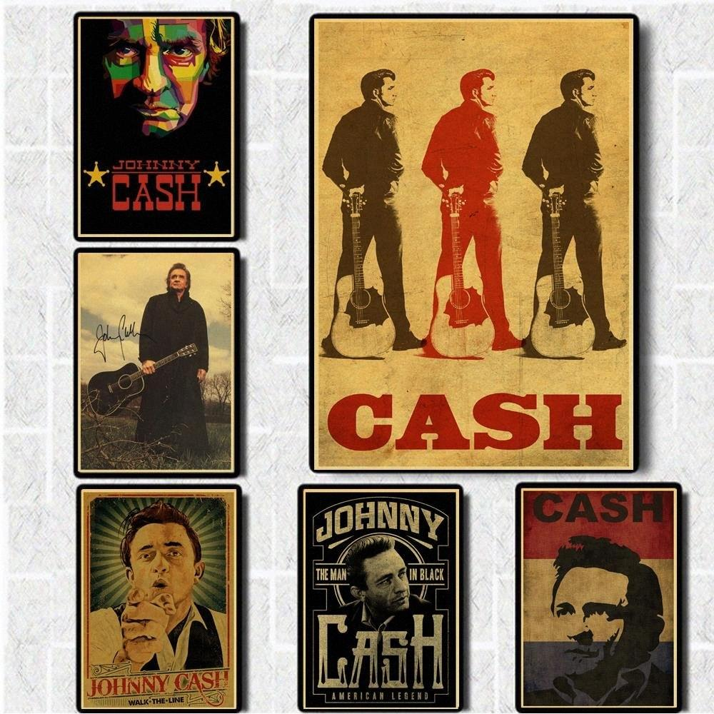 2020 Country Music Singer Johnny Cash Posters Good Quality Painting Vintage  Poster Kraft Paper For Home Bar Wall Decor/Stickers BYwM# From Walmarts,  $21.65 | DHgate.Com
