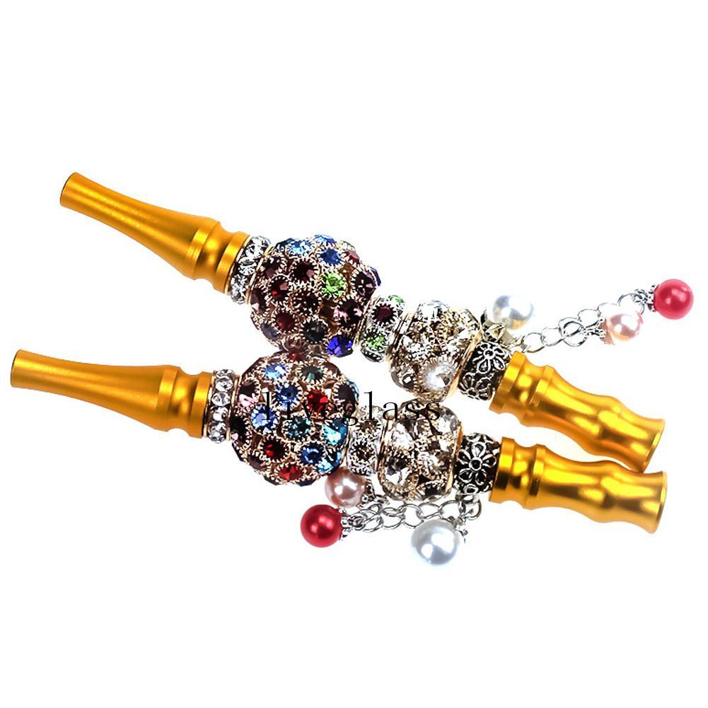 Metall Tropfspitze For Metal Shisha Sharp Mundstück Diamant arabischen Shisha Narguile Filter für Smoking Pipe Werkzeug Zubehör Tipps