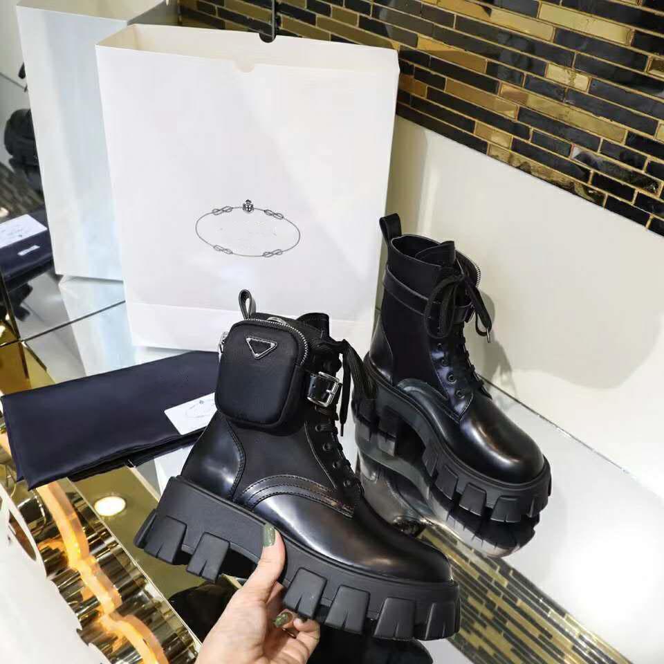 Новый 2020 Классический европейский стиль женщины обуви, Ladies'Shoes, Мартин сапоги, сумка украшение мотоцикл сапоги, реальные кожаные сексуальные сапоги резиновый Низ