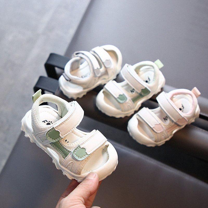 Sommer-Kinder Sandalen Baby Soft Bottom Sport Sandalen Baby-Strand-Schuhe Kleinkind-Schuhe Kinder Mädchen Sandle Jungen Schuhe Sale Online z01C #