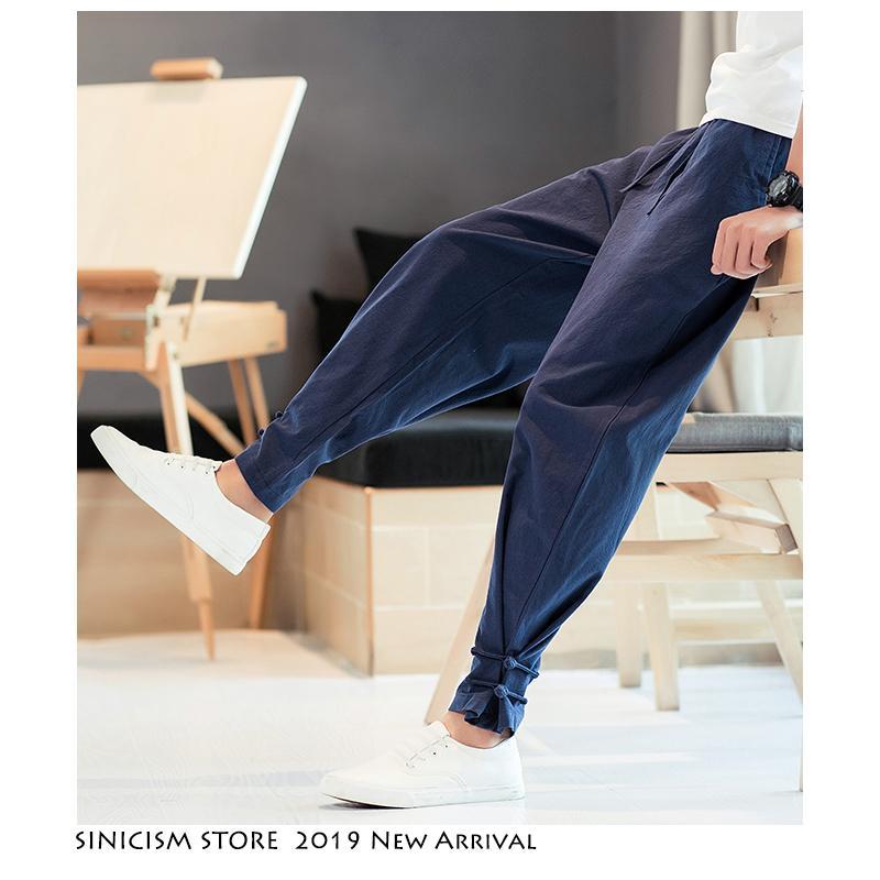 Sinisation Magasin Hommes Streetwear Joggers 2020 Mens Casual Printemps drôle piste PANTALON Homme Coton Harem Jogger hip hop Fashions CX200729