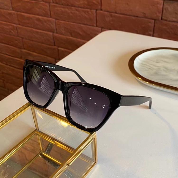 2020 جديد B4382 ساحة المرأة الفراشة تدرج نظارات شمس UV400 57-19-145 الأزياء منقوشة بلانك مصمم إطار fullset حالة وجودة عالية