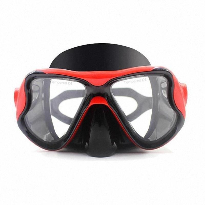 Adulti Donne Uomini regolabile immersioni subacquee piscina di addestramento, nuoto, ecc immersioni subacquee 80 millimetri 65mm Occhiali Maschera 160mm Solid Fkxp #
