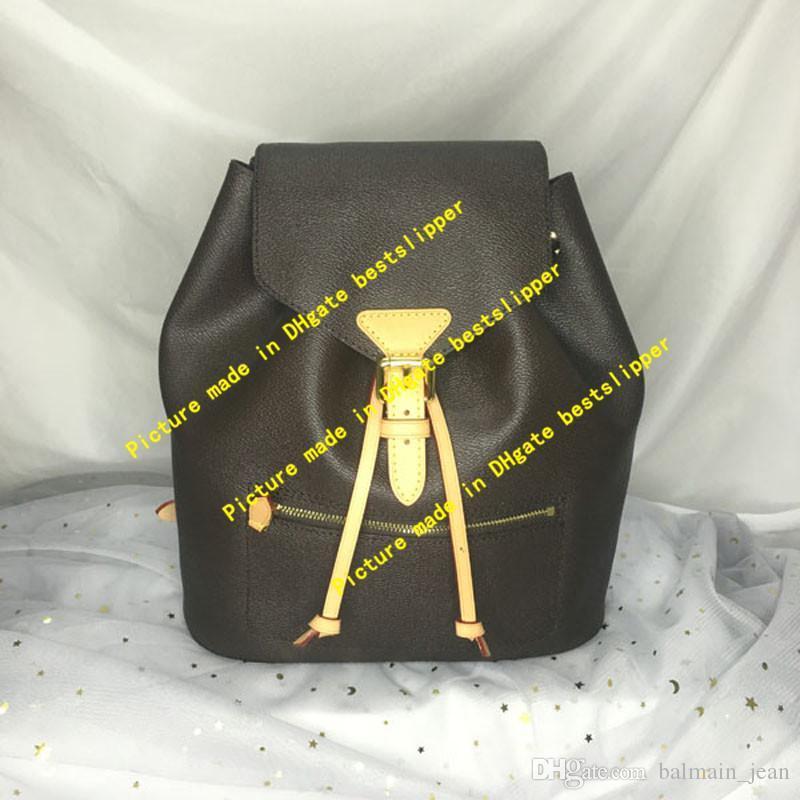 Мода M43431 задние монограммы сумки сумки рюкзаки флип крышка сумки плеча рюкзаки на плечо
