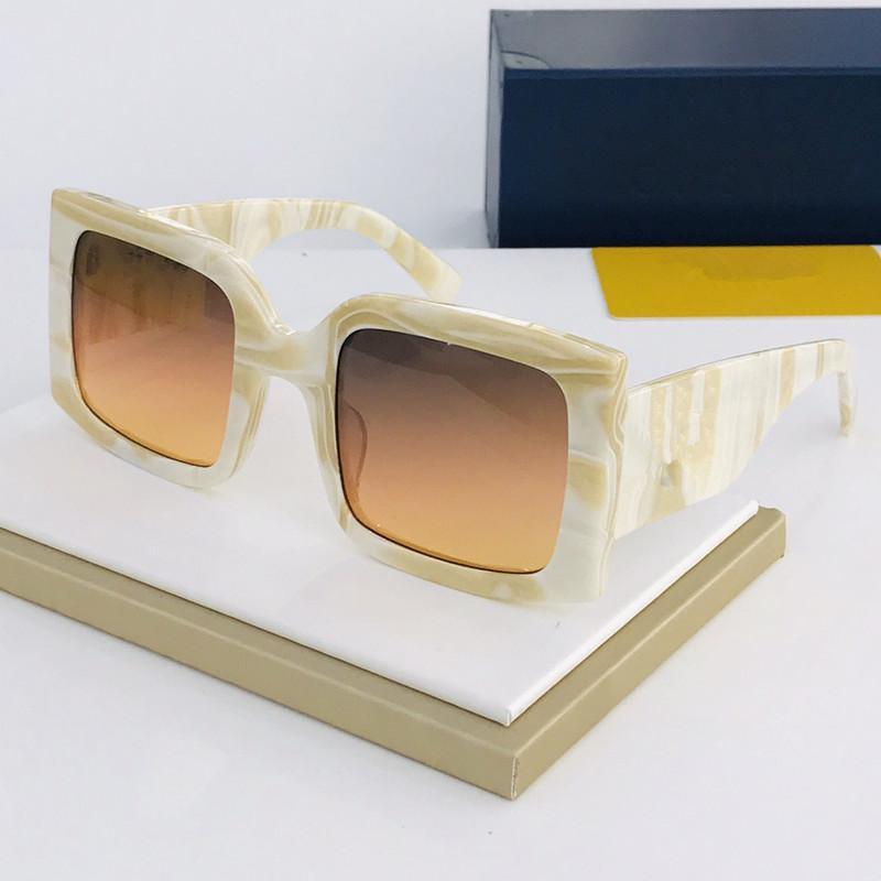 Marke High-End-Serie Sonnenbrille Designer klassischen Design Luxus-Sonnenbrille Laser-Logo urban fashion UV400 Augenschutz Marken-Sonnenbrille