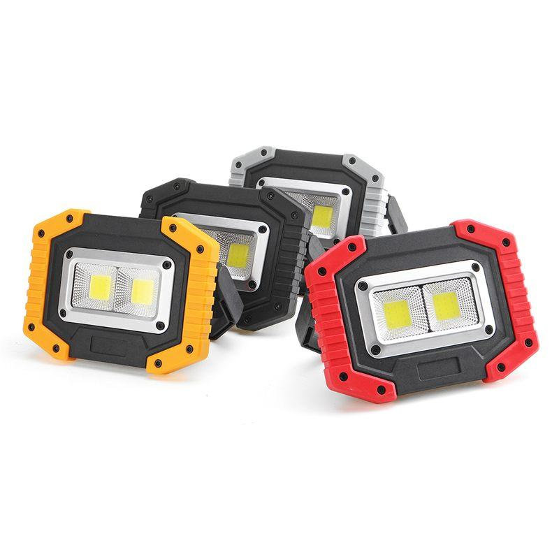 XANES 24C 30W COB LED-Arbeits-Lichtwasserdichte wiederaufladbare LED-Scheinwerfer für Lampen-Camping-Scheinwerfer-Fackel Notlaterne