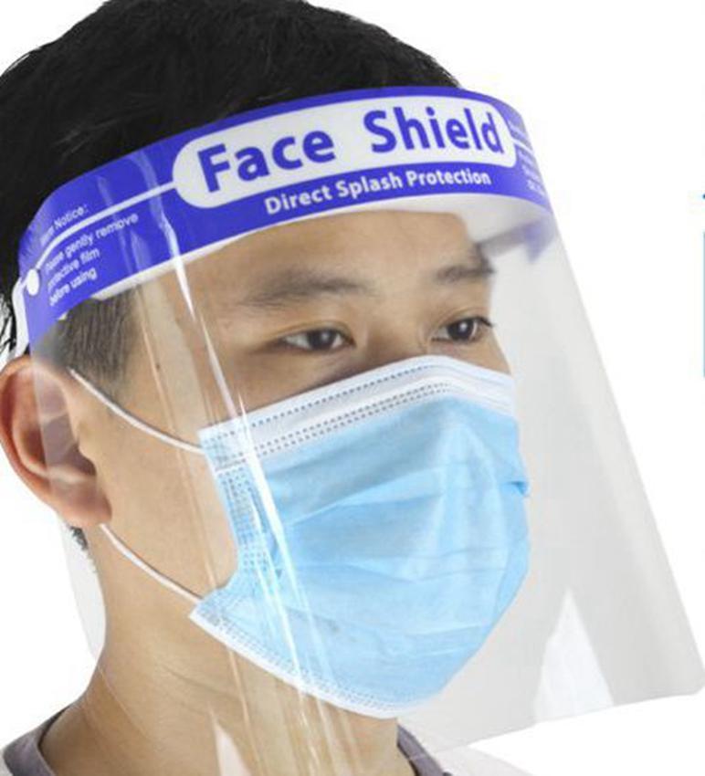 Безопасность защита от противотуманной туманы защита прозрачный объектив Анти-туманный прозрачный защитный щит маски повязки ljk2404 полное щит для лица