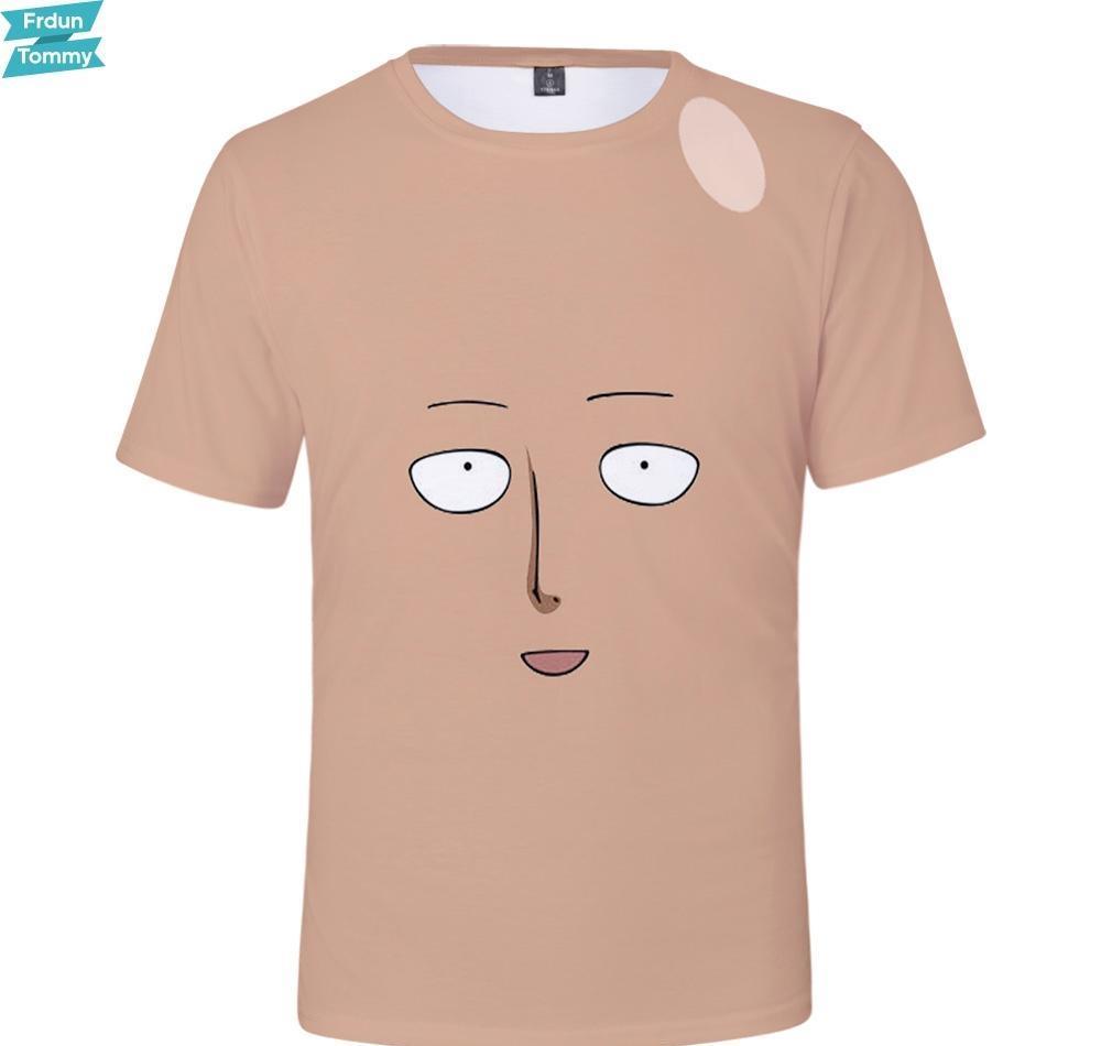 Bir Punch Adam Sezon 2 3D Baskılı Aile eşleştirme tişörtleri Yaz Kısa Kollu T-shirt 2019 Sıcak Satış Günlük Streetwear Tişörtlü