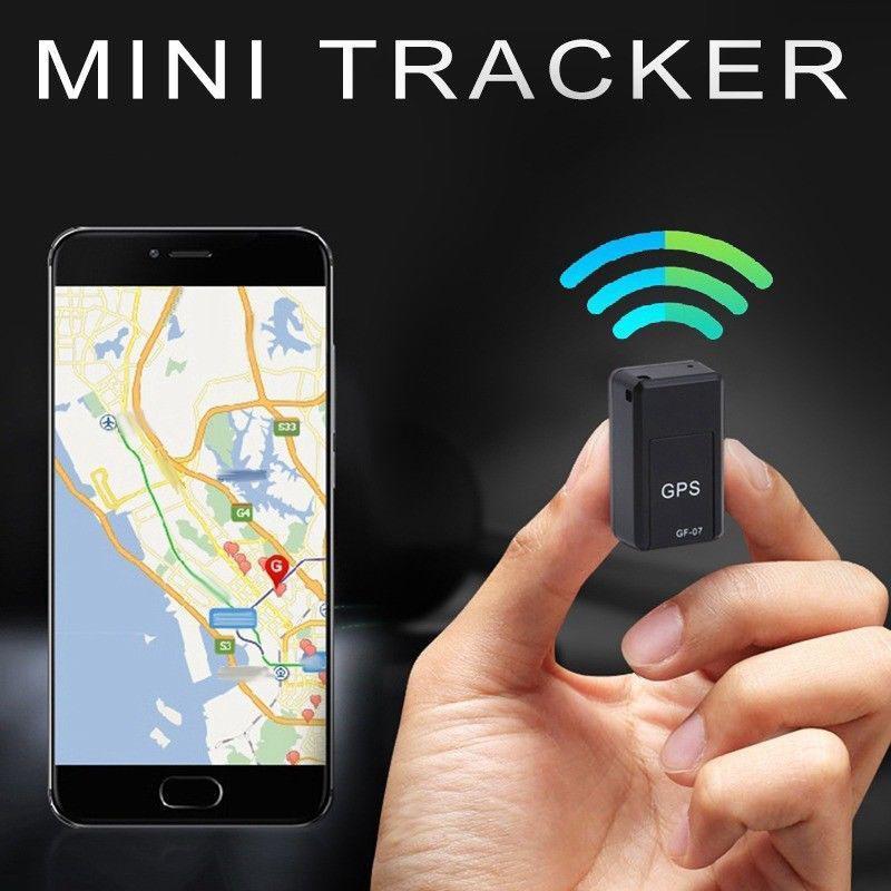 Mini Rastreador GPS para niños GF-07 GPS Magnético SOS Seguimiento de dispositivos de seguimiento de automóviles para vehículos Ubicación de niños Ubicación Sistemas de localizador Necesitan tarjeta SIM TF TF