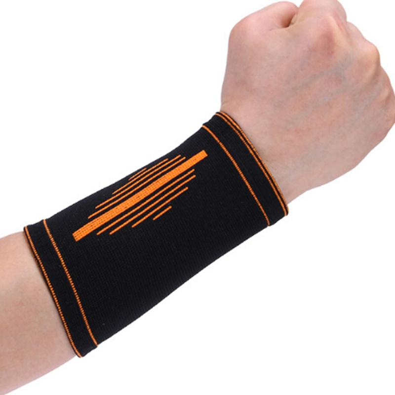 Cotton Sport Protective Wristband Support Brace Wrap Bandage Gym Strap Running Sport Wrist Band Breathable Sweat Band Basketball