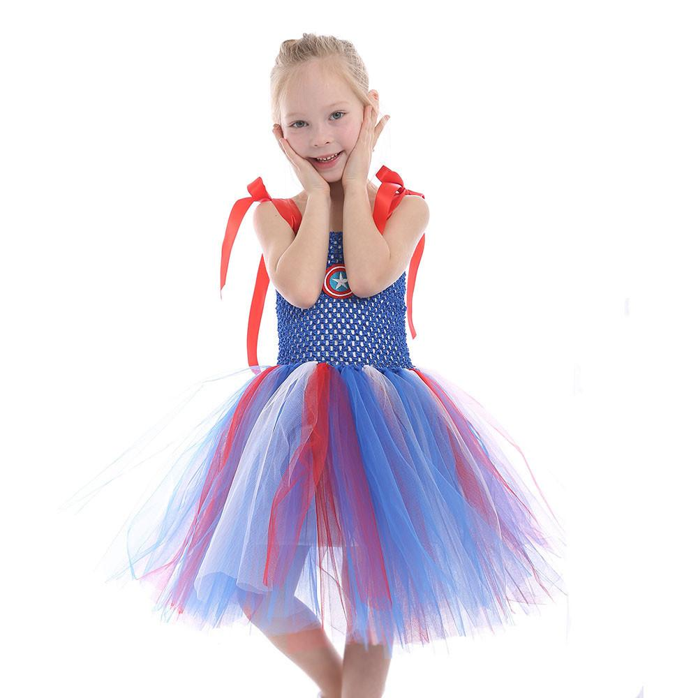 2020 2020 Fantasia Princess Dress Christmas Party Kids Dress Up Girls Light Blue Sleeveless Ceremonial Dresses Halloween From Vonluxedream03 10 47 Dhgate Com