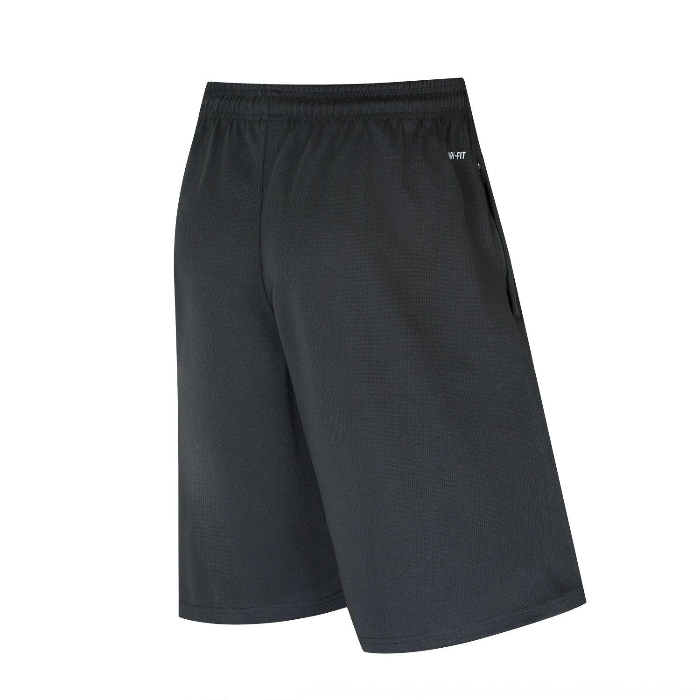 Basquetebol e calções de treinamento da aptidão do verão na altura do joelho de basquete masculino cortada calças soltas correndo de secagem rápida calções desportivos
