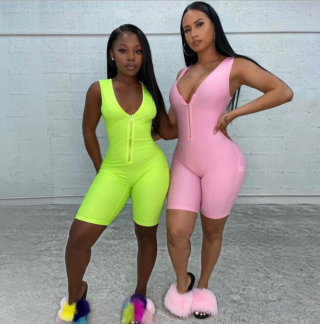 vendita calda nuove donne di stile aderente hip-sollevamento cerniera tuta tuta strada pantaloni a vita bassa donna sportivo di modo