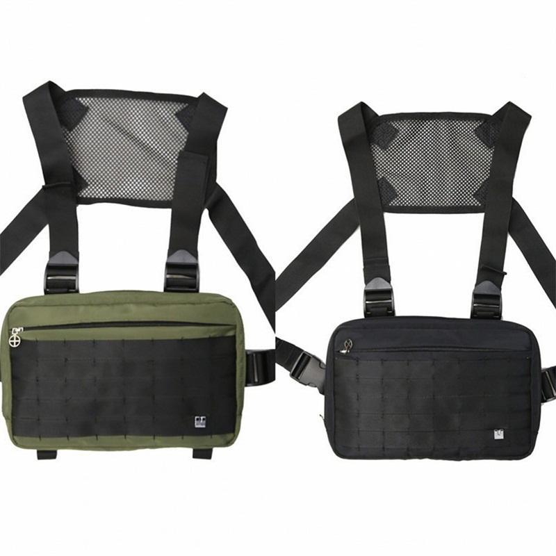 Аликс Tactical Chest Rig сумка рюкзак Streetwear Талия Висячие Dead Fly Сумки Открытый Военный стиль Рюкзак горизонтальный Холст 25 9HD B2