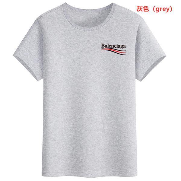 Balenciaga maglietta del cotone maniche corte Graphic Tee camicia di qualità Mens T Shirt Estate casuale girocollo SUPERA IL T Summe