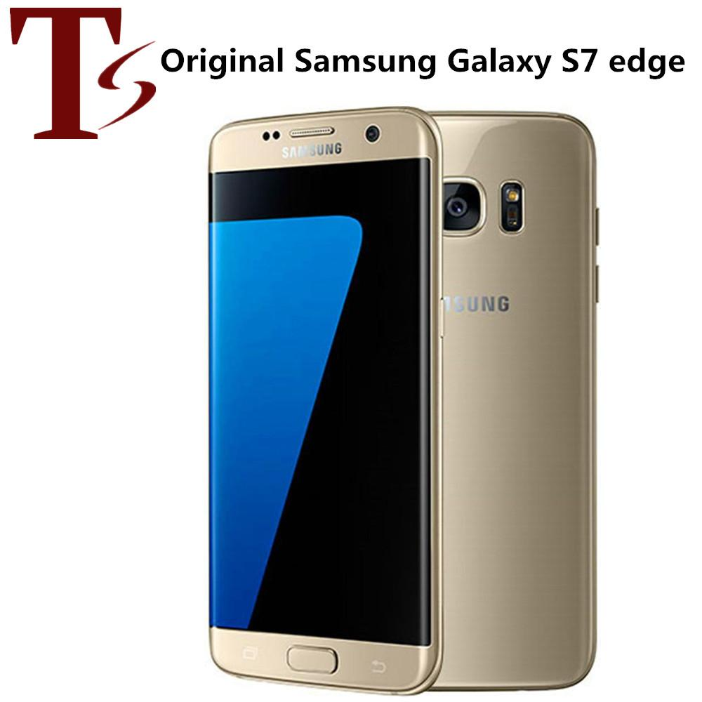 Reformiert Original Samsung Galaxy S7 Rand G935F G935A G935T G935V 5,5 Zoll Quad Core 4 GB RAM 32 GB ROM 4G LTE Telefon