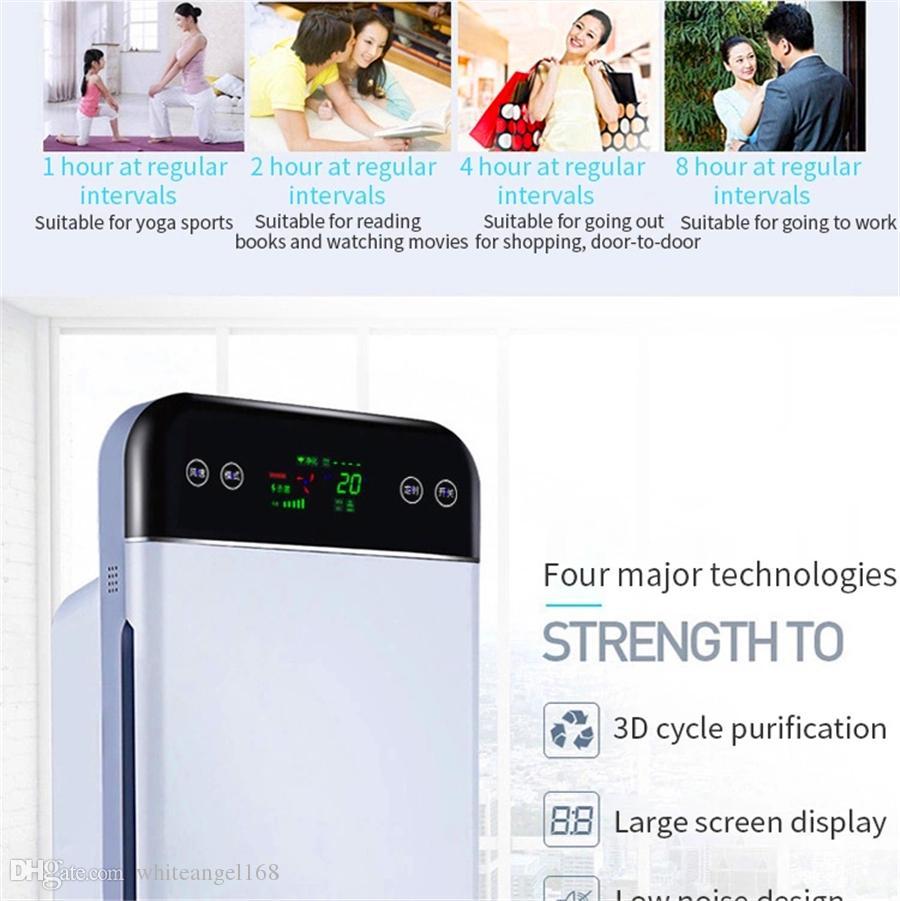 110V PM2.5 Multifunktionale Hause Luftreiniger elektrische Lufterfrischer 36W purifier Innensterilisationsfilter Desinfektions Auto lonengenerator
