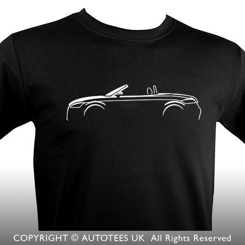 2020 venta caliente de la manera TT ROADSTER MK 2 INSPIRADA Camiseta del coche - AUTOTEES Camiseta