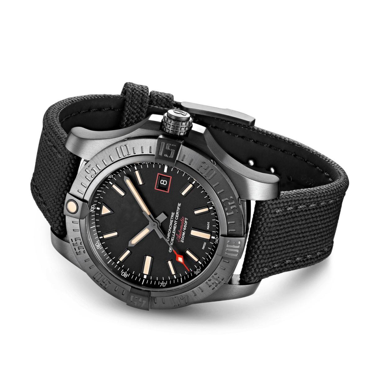 Hochwertige heiße Verkaufsuhren Männer Military Uhr gelb Avenger Seawolf automatische mechanische Uhr der Männer Kleid Armbanduhren CAL.1 FVyX #