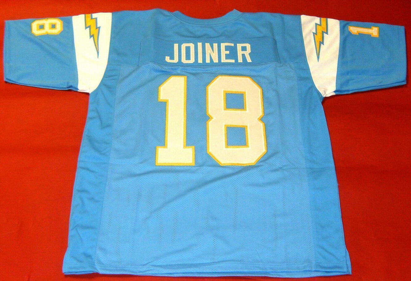 Uomo-Gioventù donne Charlie Joiner del calcio Jersey formato s-5XL o personalizzato qualsiasi nome o numero di maglia