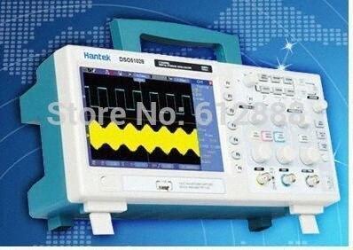 الجملة الحرة الشحن HANTEK DSO5202P الرقمي الذبذبات التخزين 200MHZ 2Channels 1GSa / ق 7  TFT LCD OeyH #