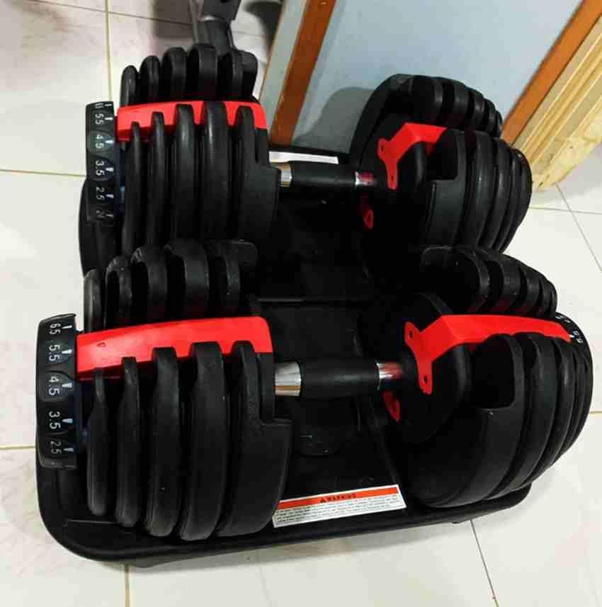 Регулируемое гантель 2.5-24kg Фитнес Тренировки Гантели Веса Построить свой Мышцы Спорт на открытом воздухе Фитнес оборудование ZZA2230