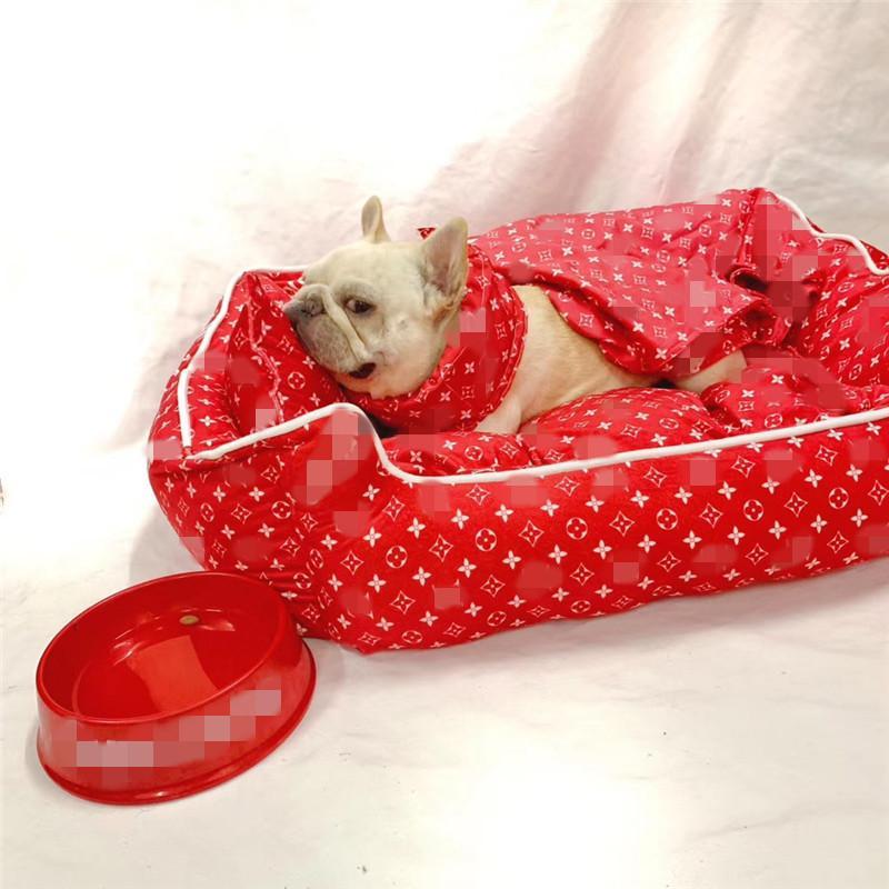 نجمة طبع الكلاب لينة الكلب القط العالمي سرير داخلي الحيوانات الأليفة الراحة النوم بد سرير فور سيزونز العالمي شحن مجاني