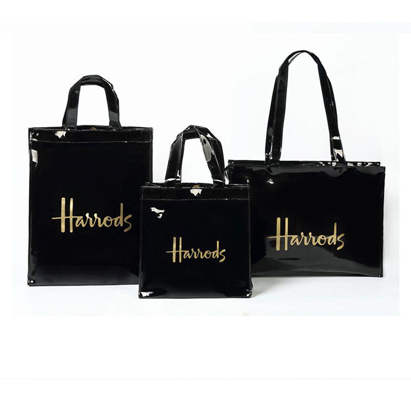 Lusso PVC borsa durevole impermeabile donne di acquisto del Tote amichevole riutilizzabile di Eco London Shopper Borsa a tracolla della borsa CX200715