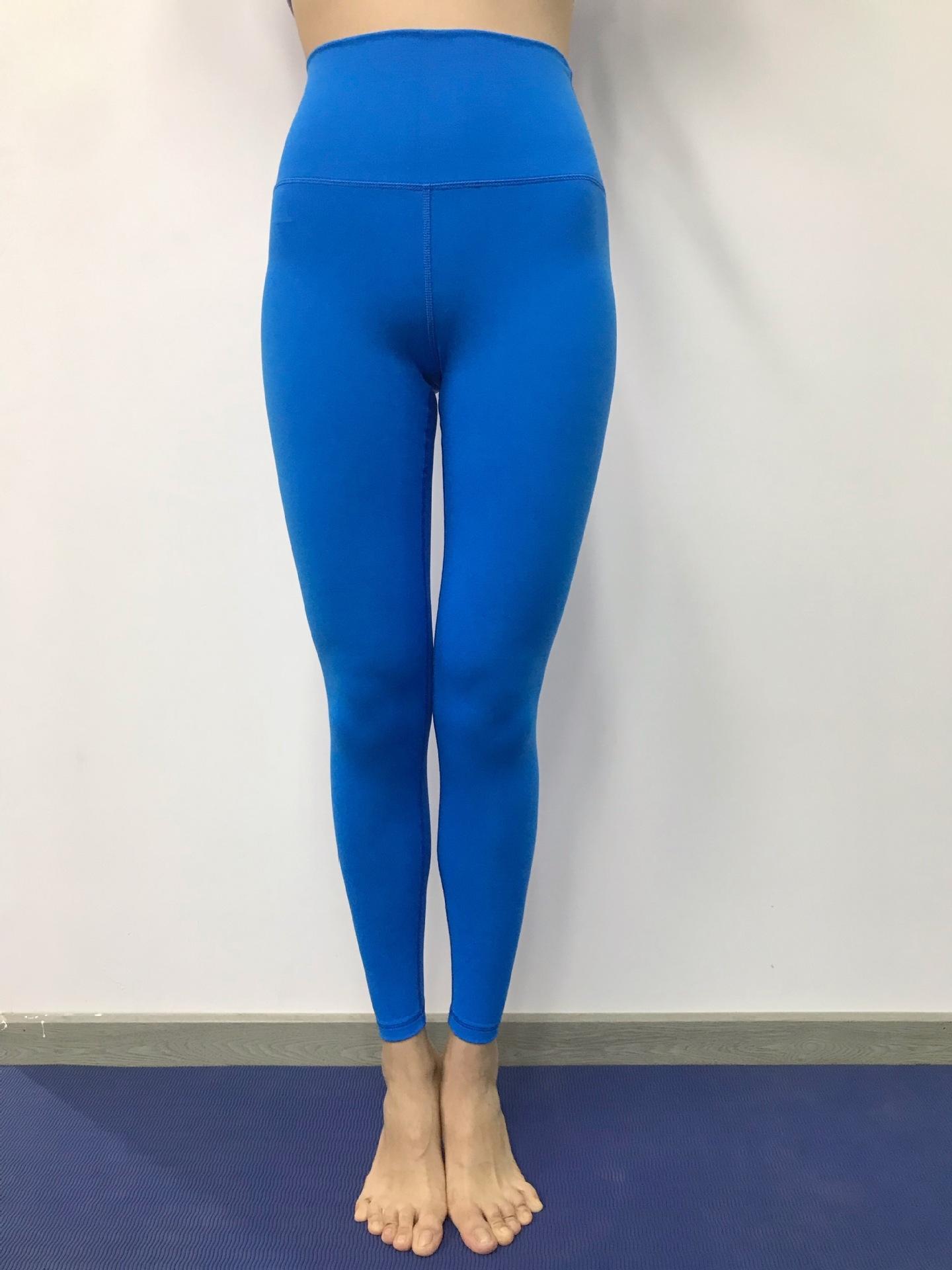 Fitness-Königin elastischer Sport Fitness enge Hosen Kleidung Herbst und Winter New enger Bauch hoch Taillengamaschen Yoga Sport kUwPK Yoga Od1Te