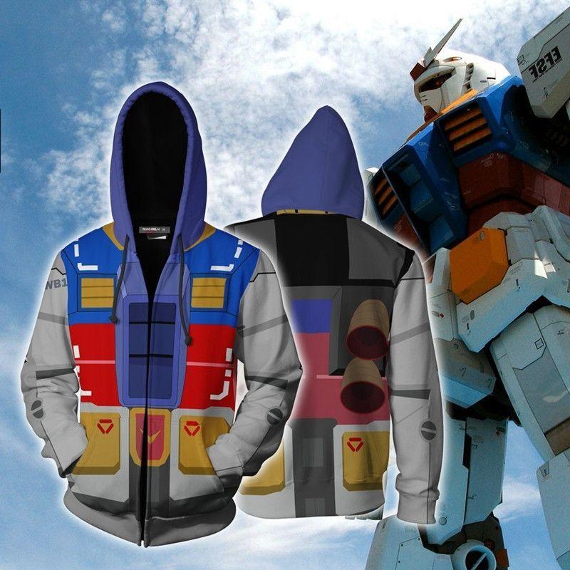 3d anime Pullover Riman Anzug Anzug Digitaldruck jacketSweater Handy Handy Männer