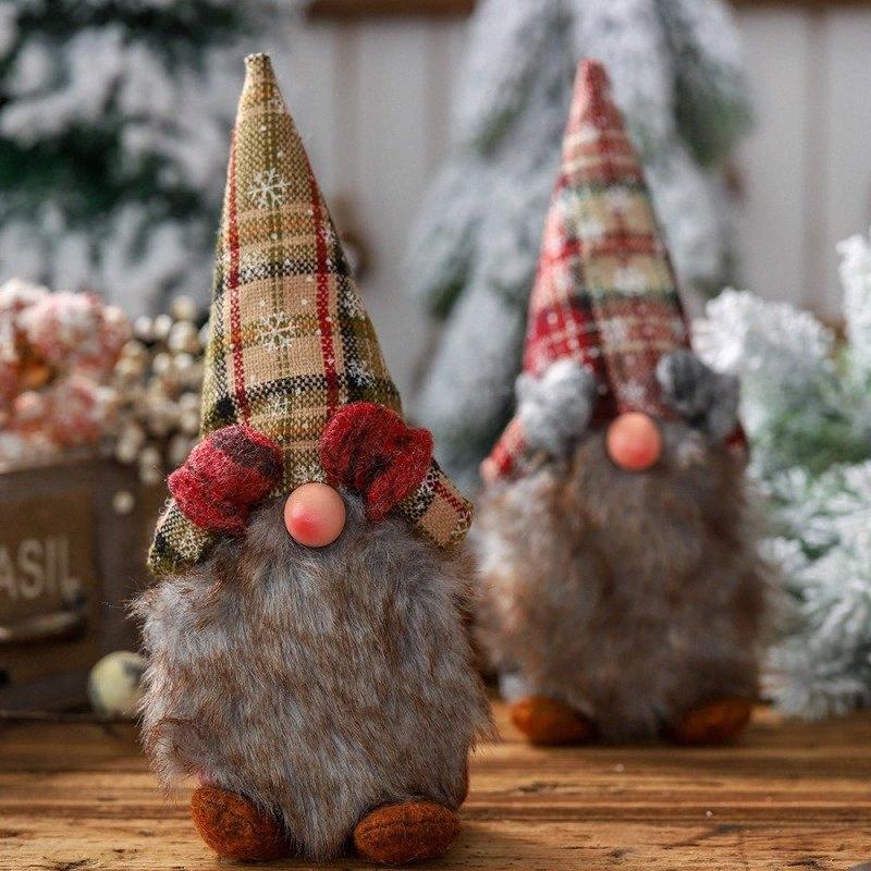 Noel Baba Doll Noel Süsleri Süsler Hediye Oyuncak Noel ağacı Süsleri Home For Enfeites De Na VN8u #